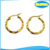 Olivia Latest Design Daily Wear Imitation Jewelry Nice Dangle Earrings Women 18k Gold Hanging Earrings