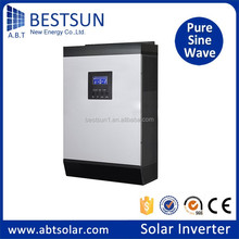 BESTSUN solar inverter 300w 500w 1000w 3000w 4000w 5000w 12/24/48/120 vdc to 120/220 vac off grid single phase china