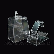 Custom made plastic watch case for single watch packaging box