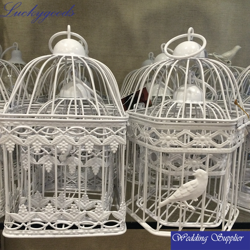 LBC057 hanging small decorative iron wire bird cage wholesale