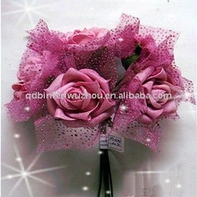 Artificial Foam Rose Wedding Bouquets Decoration Flowers