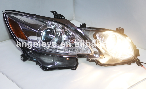 For Lexus GS300 GS350 GS430 GS450 LED Headlights Front lamp 2006-2011 year Silver Housing SN