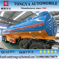 Tongya manufacturer since 1988 /exported more than cimc fuel tanker trailer