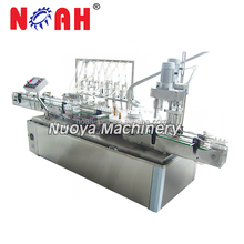 FCM 4/1 Fruit Juice Water Oil PET Plastic Glass Bottle Filling Machine