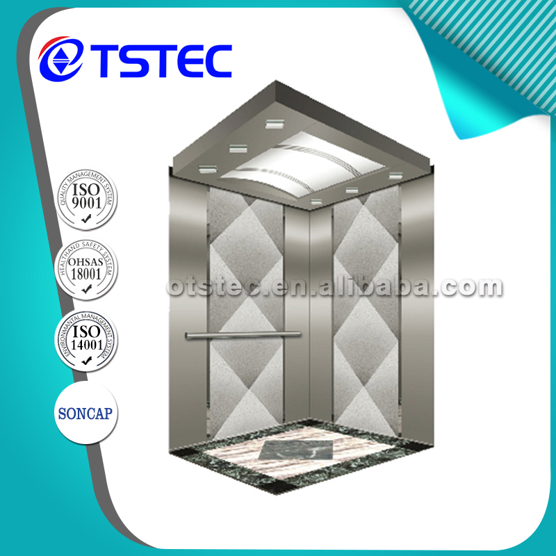Energy save passenger elevator for building office