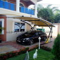 Anti-Wind & Snow High-Quality Metal Cantilever Carport Canopy Shelter