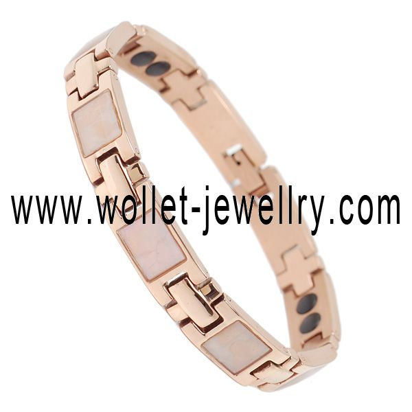 alibaba website popular stainless steel blue crystal equilibrium bracelet