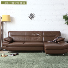 Furniture Set Solid Wood Customized As Your Designs Wooden Leather Sofa