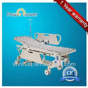 ISO/CE Ambulance stretcher,medical trolley bed for hospital B-1