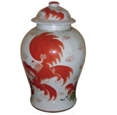 Chinese Antique Furniture Ceramic Jar