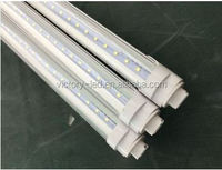 25pcs/lot 110V T8 LED TUBE 4ft 18W with R17D base to replace HO Fluorescent Lamp