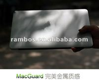 Anti-scratch computer full body protective skin sticker for Macbook air 13 inch
