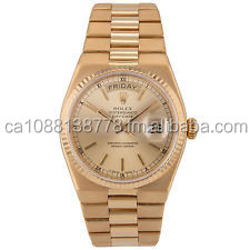 Day-Date Presidential 18k 750 Yellow Gold Quartz Mens Watch