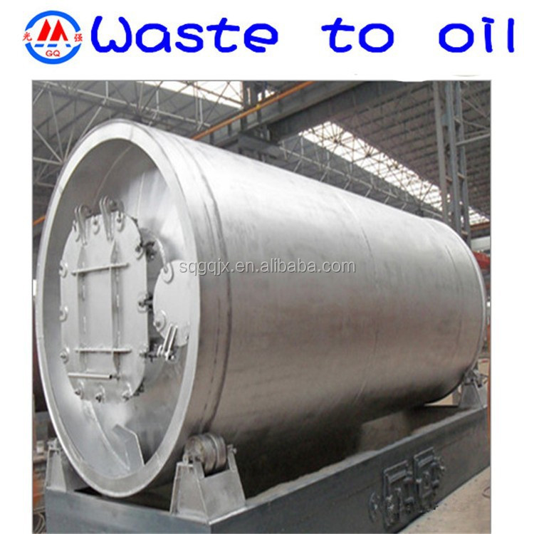11th generation safe green 500-ton used motor engine oil distillation to diesel base oil plant machinery with glass mirror