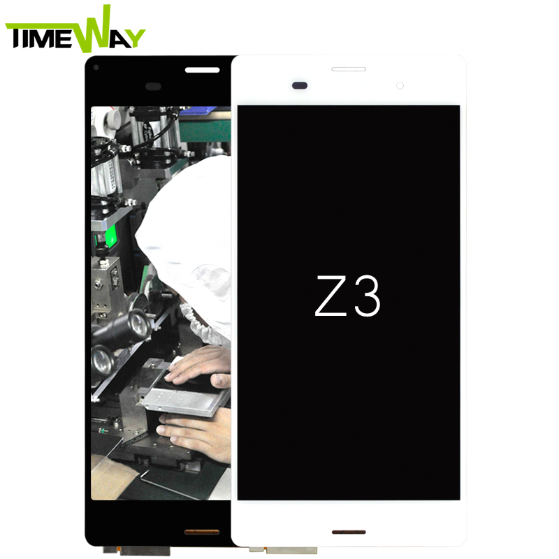 LCD display with touch screen for sony Xperia Z3 L55T L55U D6603 D6616 D6633 (without frame)