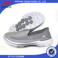 latest design big size walking shoe ROKE power sport running shoe casual shoe for man