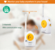 cheap baby monitor 2 Channels Wireless Audio Baby Phone with power light