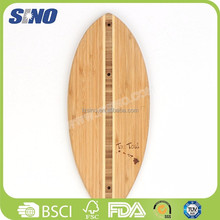 Kitchen Eco-friendly Latest Oval Eco Bamboo Cutting Board