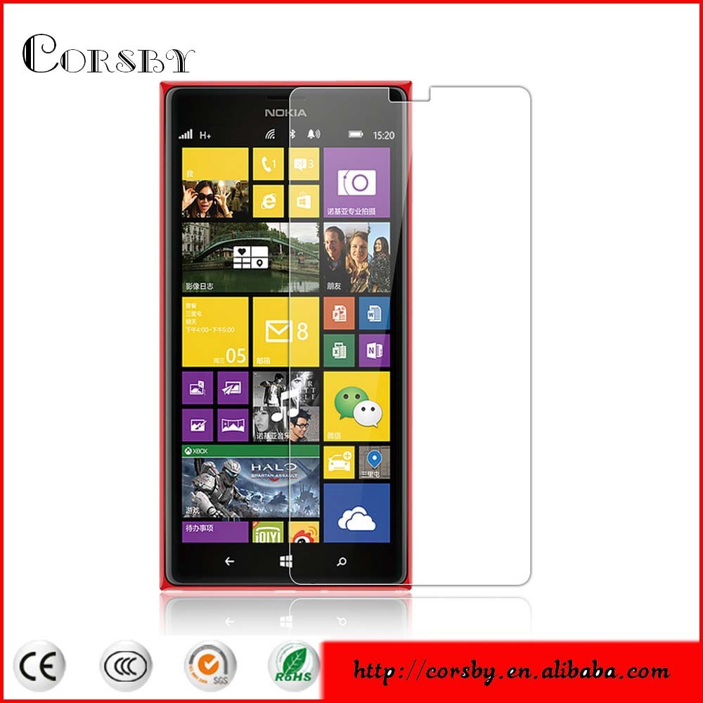 Tempered Film for Nokia Lumia 1520 Tempered Glass Screen Protector