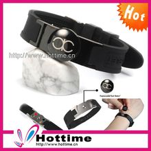 Wholesale Power Disc Eco Silicone Bracelet Slap