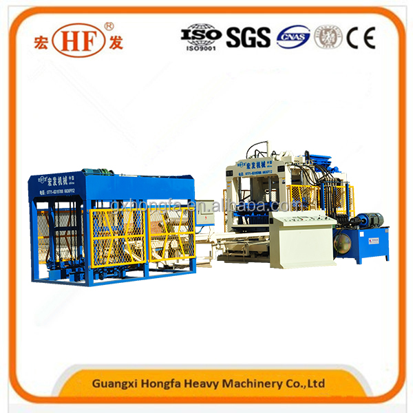 Large Scale Automatic Block or Brick Making Machine QT8-15D