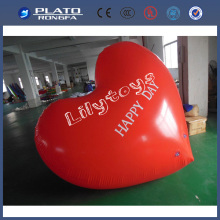 Heart Shape inflatable helium ball,gaint helium ballon,giant helium balls for people