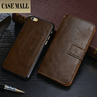 New Arrival Cover for iPhone6, for iPhone 6s Flip Wallet Case, IP6 Leather Case