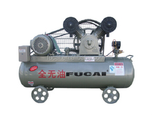 4kw 5.5hp 8bar oil less paper making industrial piston air compressor