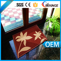 Professional custom fancy big door mat