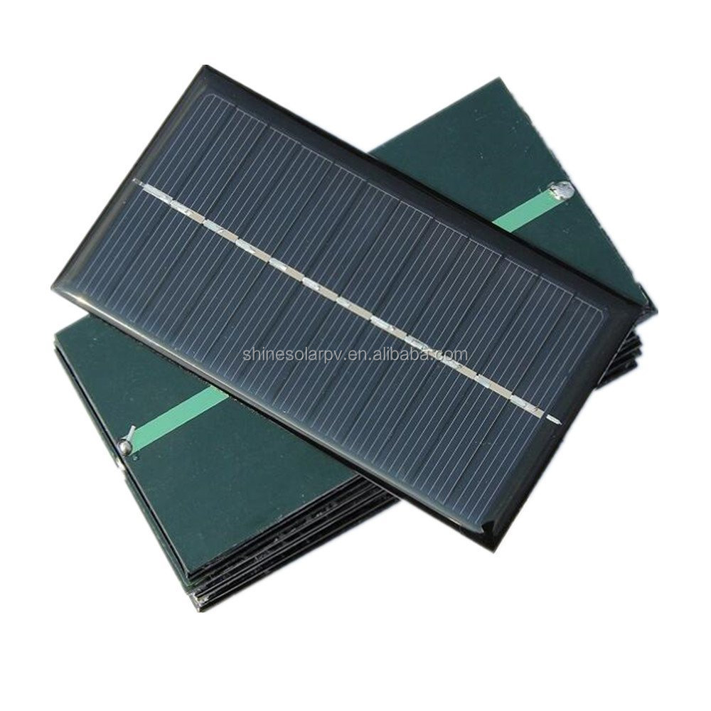 6V 1W Micro Mini Power Small Polycrystalline Solar Cell Panel Module For DIY Solar Light Phone Battery