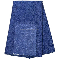 2015 eco royal blue french lace tulle lace french net lace HY0329