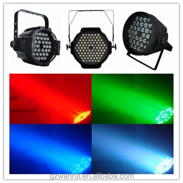 wholesale high quality 3w*54pcs stage par light coloring mixer