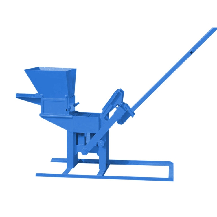 QTJ2-40 manual Clay interlocking Brick making machines price list in india
