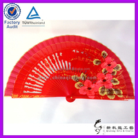 Custom Wood Carving Wedding Deocration Items Handheld Fan