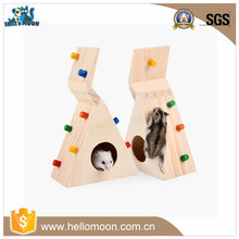 Multi-functional Sports Room Funny Wooden Hamster Cage