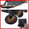 YASHI professional wood makeup cosmetic tool 24pcs makeup brushes kit