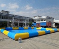 Big blue swimming pool inflatable pool/inflatable pool for sale