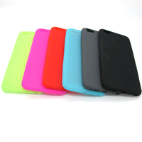 High quality best selling silicone mobile phone case for phone6 plus with different color