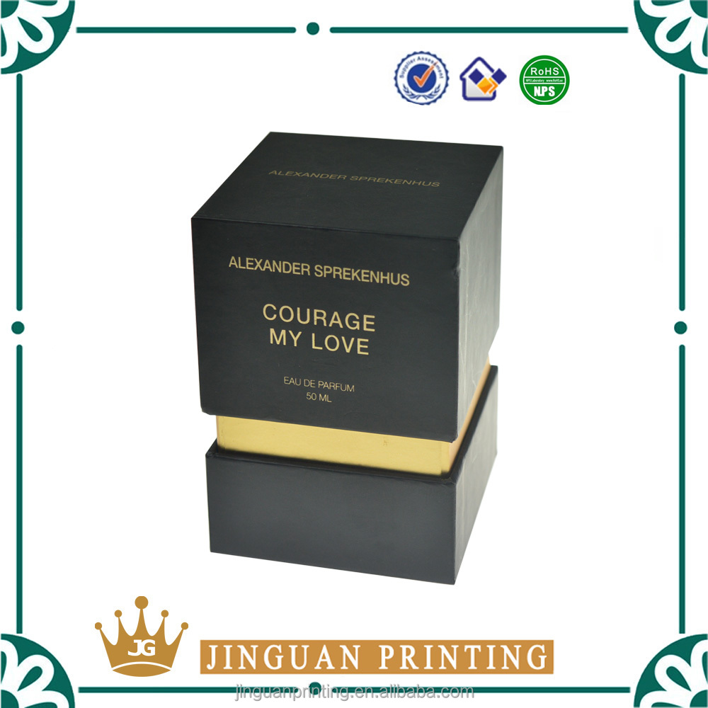 High quality custom design cardboard paper perfumes packaging luxury gift boxes
