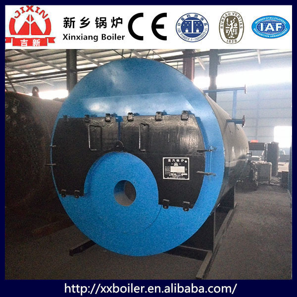Industrial WNS Series Multi Fuel Oil and Gas Fire tube Steam Boiler