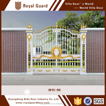Decorative Color Power Coated Security Gates Fence Gate