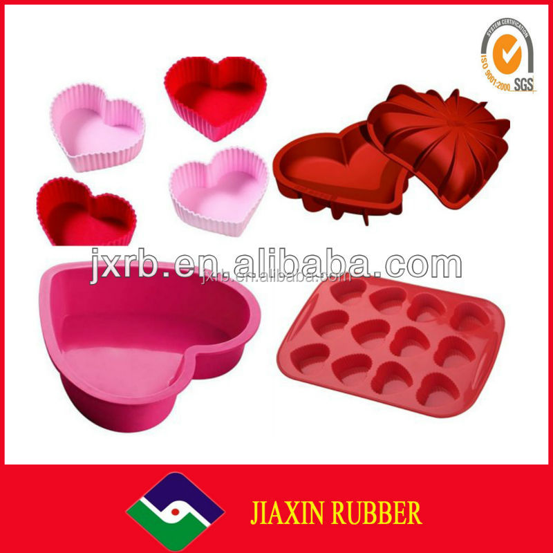 2014 Different kinds of molde silicona fondant for fondant cake decorations with custom logo for cooking