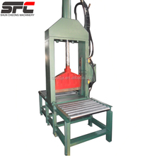 Hot sale single knife hydraulic guillotine for rubber / rubber cutting machine with factory price