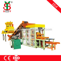 China Manufacturer concrete block making machine price in india for sale,concrete block machine german technology QT4-15