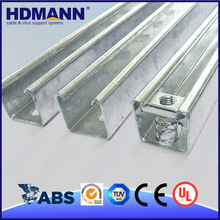 Hdmann gOOD Quality Strong Unistrut Brackets Galvanized Steel High Hat Furring Channel