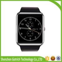 Hot latest wrist watch mobile phone cheap smart watch gt08 with high quality