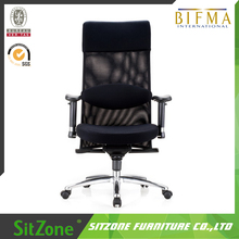 CH-015A Wholesale Office Furniture With Footrest Sleeping Mesh Chairs