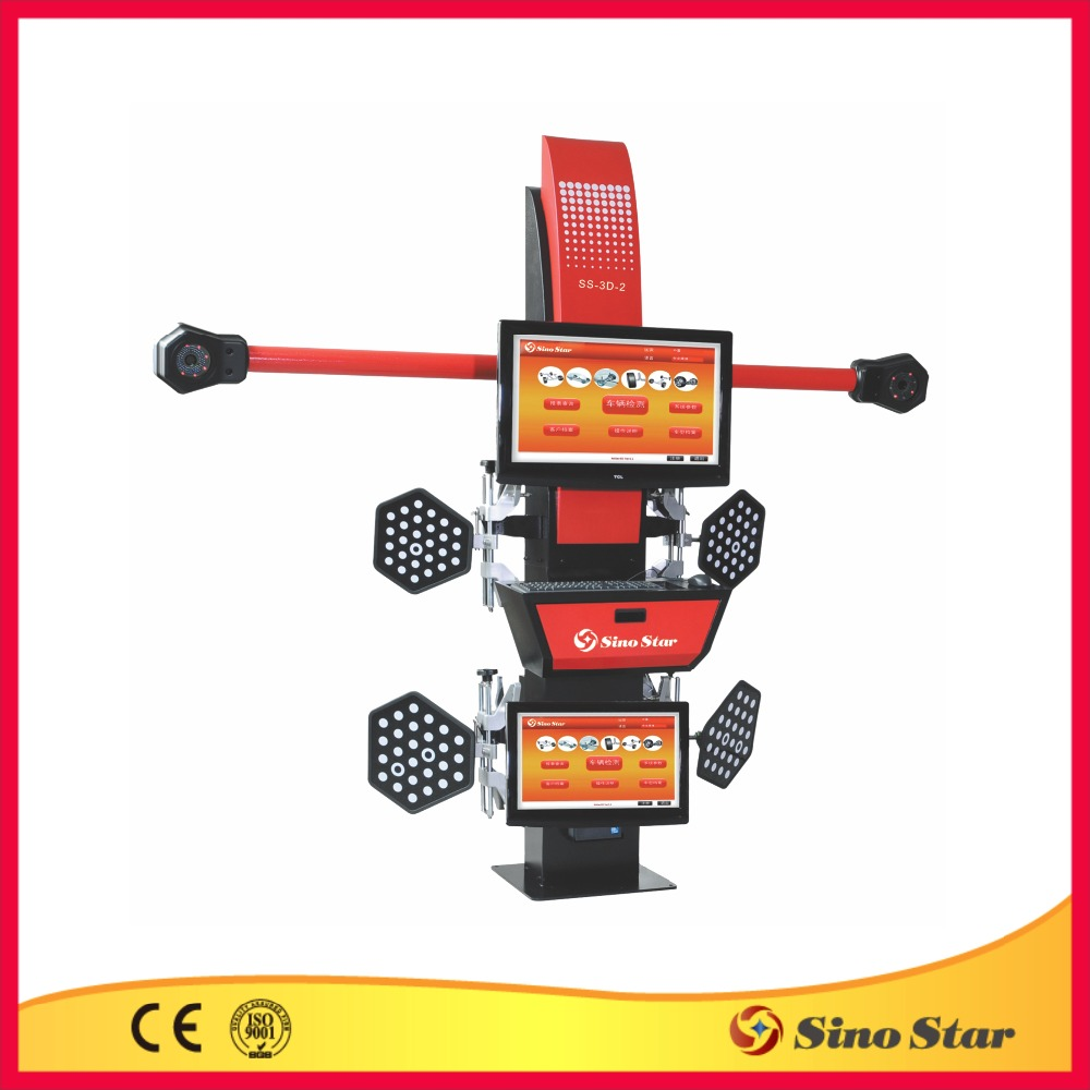 wheel balancing machine/wheel alignment gauge/how much does alignment cost(SS-3D-2)