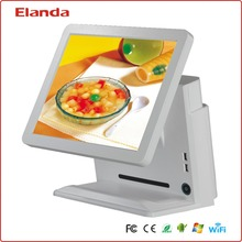 For fast food shops restaurant supermarket 15 inch touche screen billing pos machine