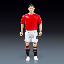 custom make plastic movable soccer star player action figures,articulation jointed flexible body soccer player figures